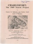 Charlesfort: The 1989 Search Project by Chester B. DePratter and Stanley South