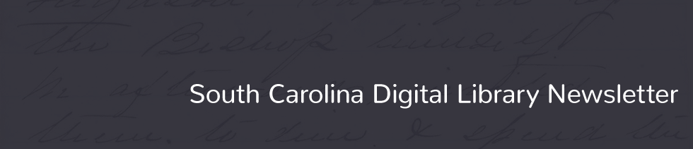 South Carolina Digital Library Newsletter