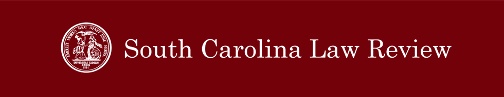South Carolina Law Review