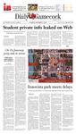 The Daily Gamecock, THURSDAY, SEPTEMBER 6, 2007