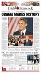The Daily Gamecock, WEDNESDAY, NOVEMBER 5, 2008