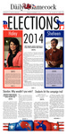 The Daily Gamecock, Monday, November 3, 2014 by University of South Carolina, Office of Student Media