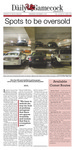 The Daily Gamecock, Wednesday, September 3, 2014