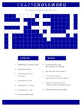 A Crossword Puzzle for Kids